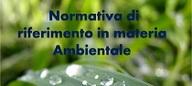 Normativa ambientale