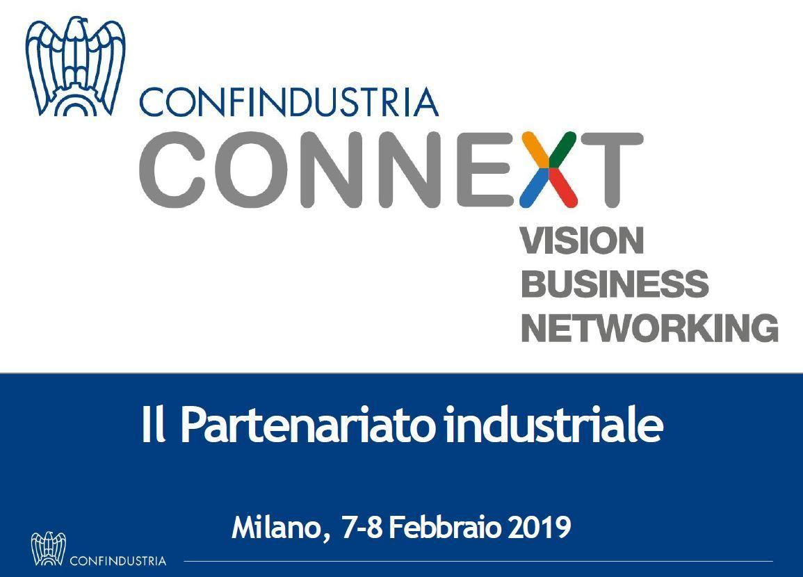 Confindustria Connext, Milano 7-8 febbraio 2019